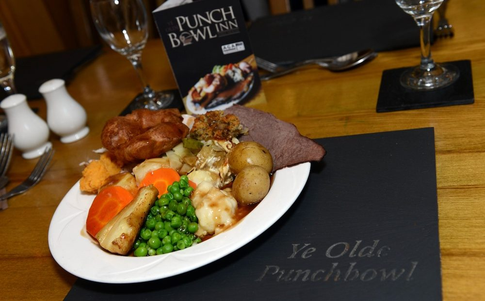 Punch Bowl Lunchtime Carvery