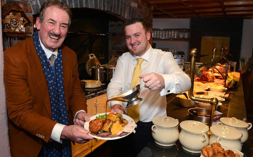 John Challis at Ye Olde Punchbowl Inn
