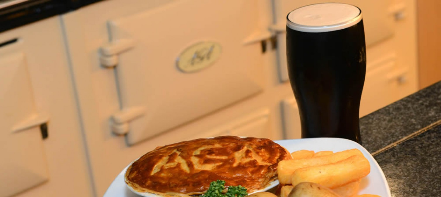 Great British Pies from our AGA