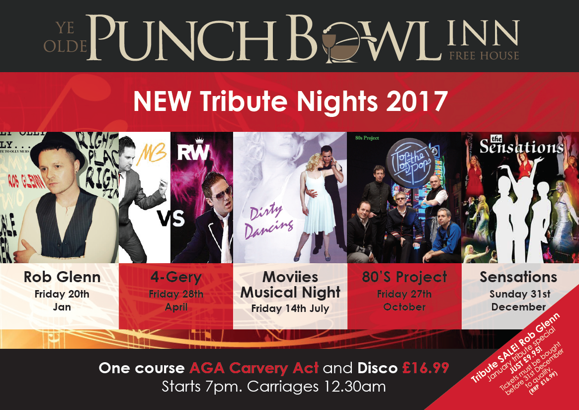 Punch Bowl Tribute Nights 2017